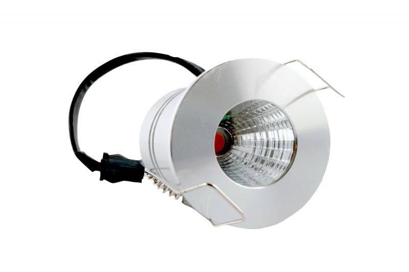 LED Minispot Einbauspot IP44, 4W, 230V AC, Sharp LED, Lichtfarbe warm-weiss, LP-SHA4D-827