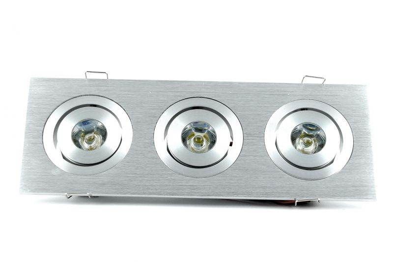 LED Einbaustrahler 3x3W High Power